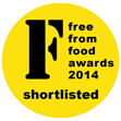 shortlisted for the 2014 FreeFrom Food Awards